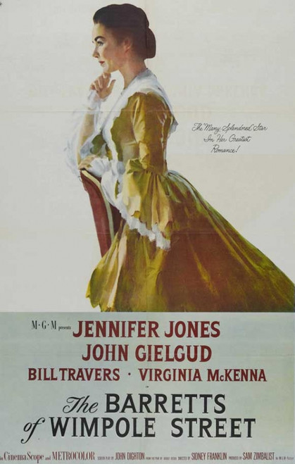 Barretts of Wimpole Street Movie Poster Print (27 x 40) - Item # MOVEH1636