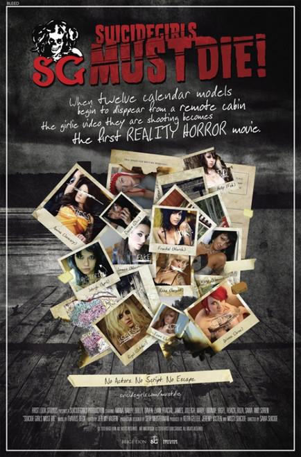Suicide Girls Must Die! Movie Poster Print (27 x 40) - Item # MOVIB90870