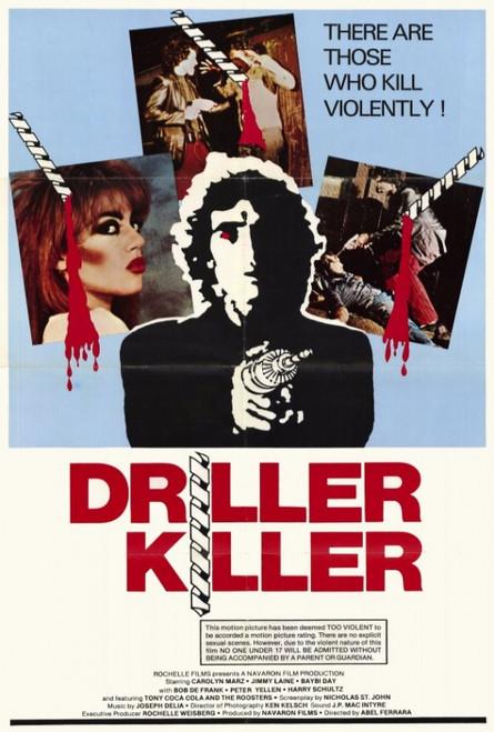 Driller Killer Movie Poster Print (27 x 40) - Item # MOVAF3425