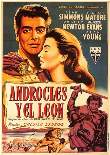 Androcles and the Lion Movie Poster (11 x 17) - Item # MOV207589