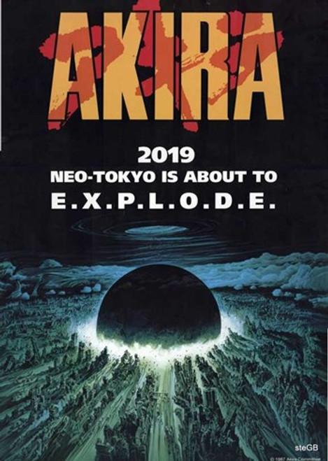 Akira Movie Poster (11 x 17) - Item # MOV494860