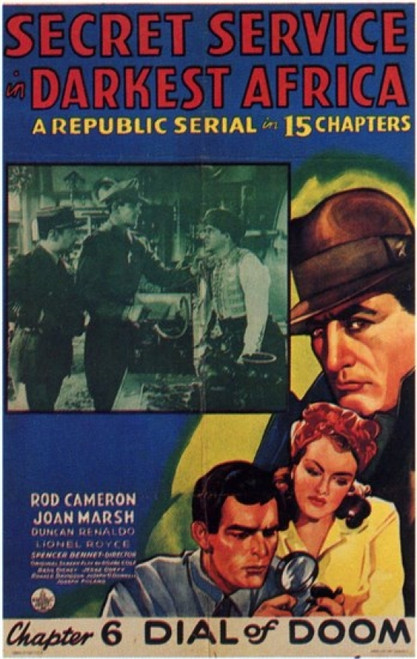 Secret Service in Darkest Africa Movie Poster (11 x 17) - Item # MOV202782