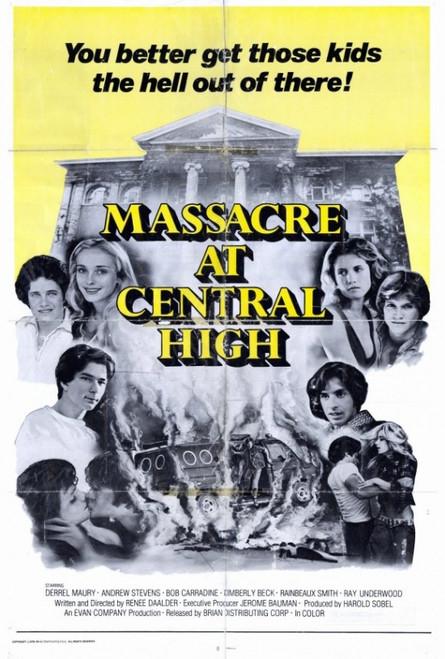 Massacre at Central High Movie Poster Print (27 x 40) - Item # MOVCF3391