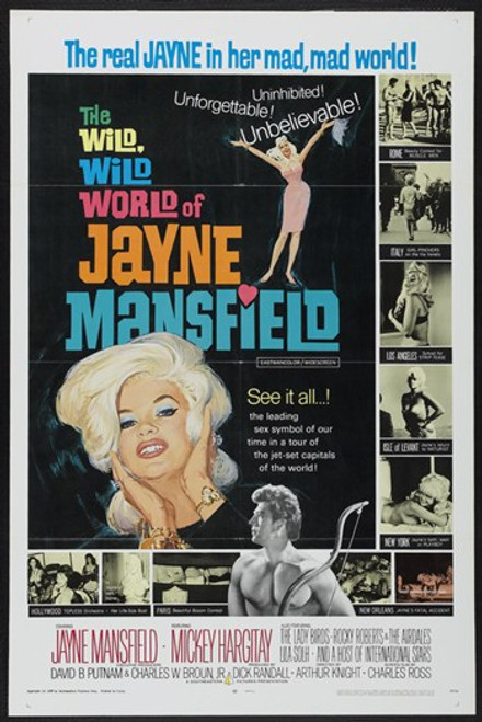 Wild World of Jane Mansfield Wild Movie Poster (11 x 17) - Item # MOV417554