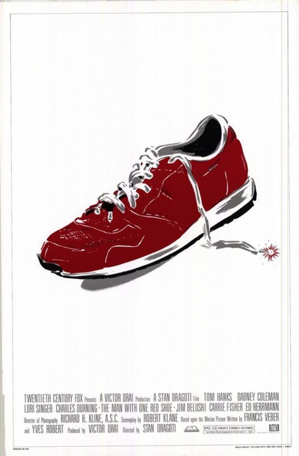 The Man with One Red Shoe Movie Poster Print (27 x 40) - Item # MOVEH8253
