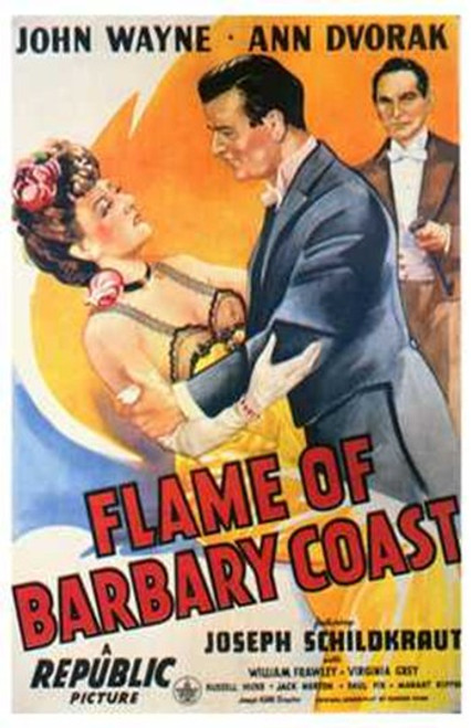 Flame of the Barbary Coast Movie Poster (11 x 17) - Item # MOV258309