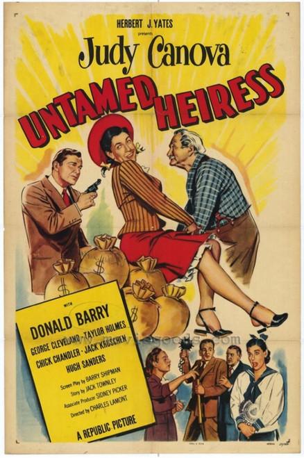 Untamed Heiress Movie Poster Print (27 x 40) - Item # MOVGH4633