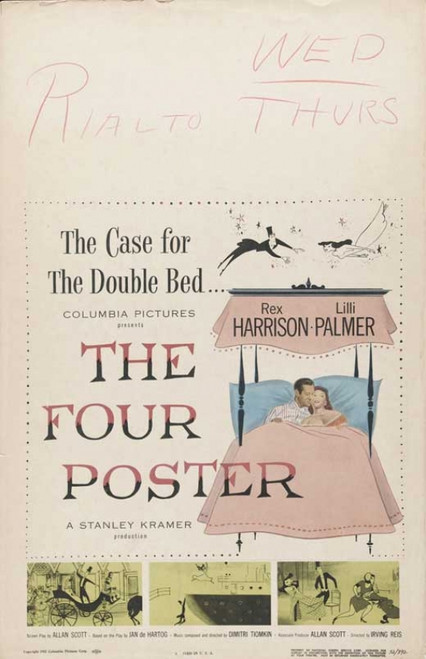 The Four Poster Movie Poster Print (27 x 40) - Item # MOVAB35053