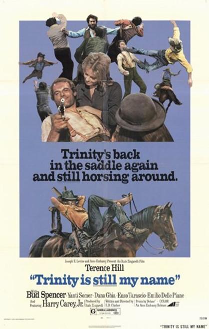 Trinity is Still My Name Movie Poster (11 x 17) - Item # MOV193573
