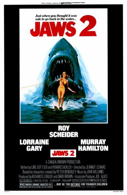 Jaws 2 Movie Poster Print (27 x 40) - Item # MOVCF1265
