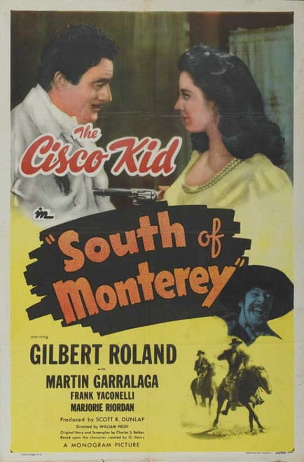 South of Monterey Movie Poster Print (27 x 40) - Item # MOVCB15553