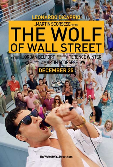 The Wolf of Wall Street Movie Poster Print (27 x 40) - Item # MOVIB44835