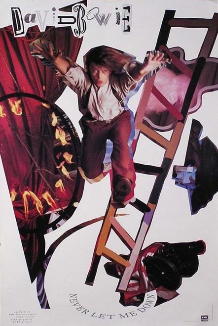 David Bowie Never Let Me Down Poster - Item # RAR9992498