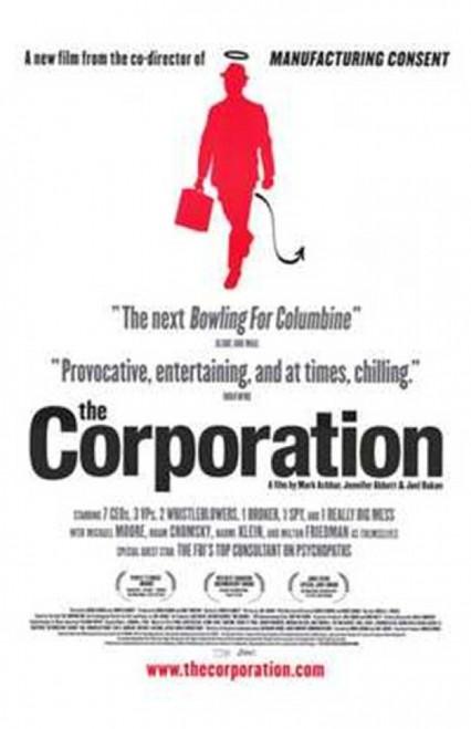 The Corporation Movie Poster (11 x 17) - Item # MOV203597