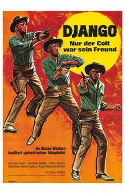Django Shoots First Movie Poster (11 x 17) - Item # MOV206325