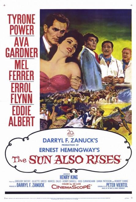 The Sun Also Rises Movie Poster Print (27 x 40) - Item # MOVGF8376
