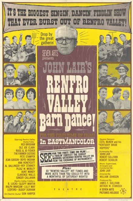 Renfro Valley Barn Dance Movie Poster (11 x 17) - Item # MOV249551