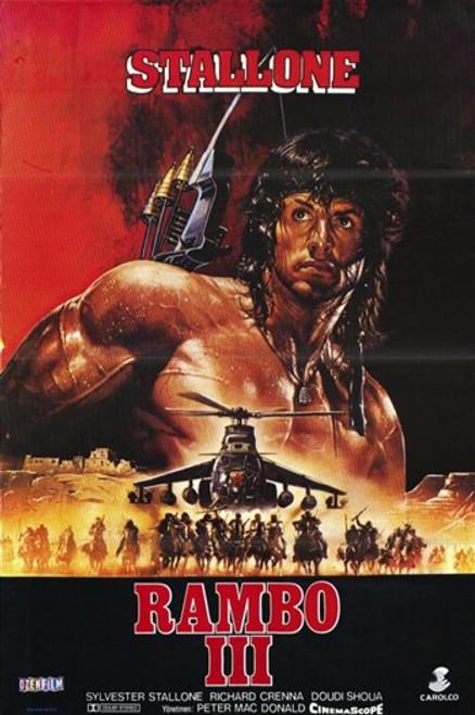 Rambo 3 Movie Poster (11 x 17) - Item # MOV206832