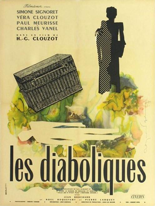 Diabolique Movie Poster (11 x 17) - Item # MOV417623