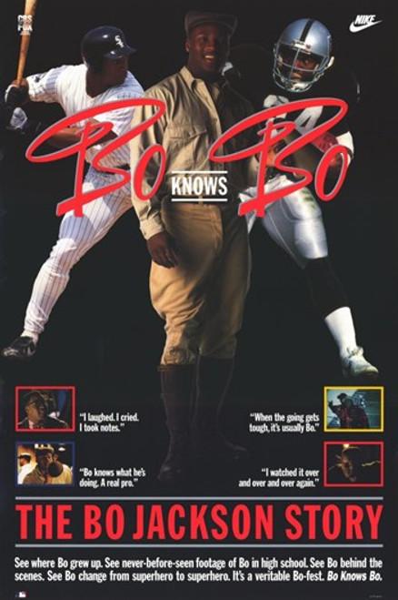 Bo Knows Bo Movie Poster (11 x 17) - Item # MOV231176