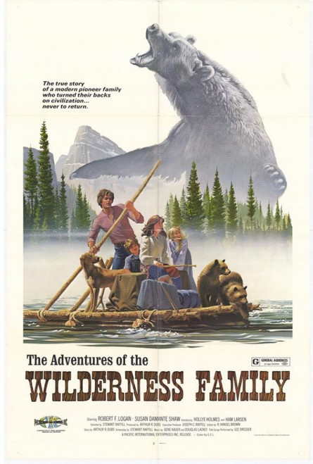 The Adventures of the Wilderness Family Movie Poster Print (27 x 40) - Item # MOVEH9681