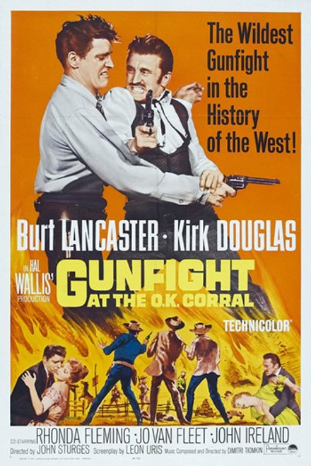 Gunfight at the O.K. Corral Movie Poster (11 x 17) - Item # MOV413006