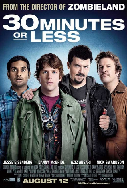 30 Minutes or Less Movie Poster Print (27 x 40) - Item # MOVGB46514