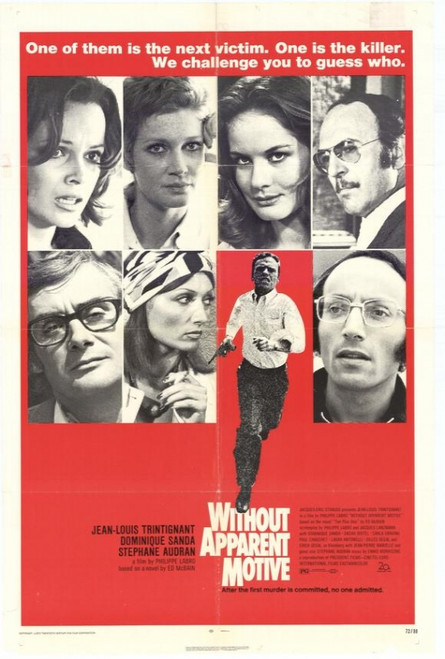 Without Apparent Motive Movie Poster Print (27 x 40) - Item # MOVAH4344