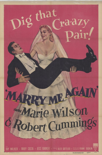 Marry Me Again Movie Poster Print (27 x 40) - Item # MOVIF9365