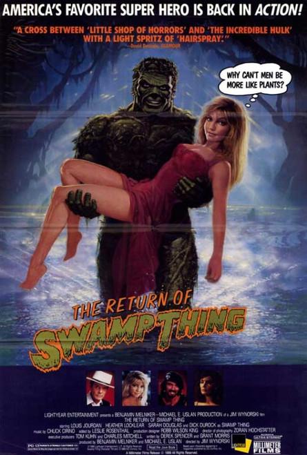The Return of Swamp Thing Movie Poster Print (27 x 40) - Item # MOVAF0387
