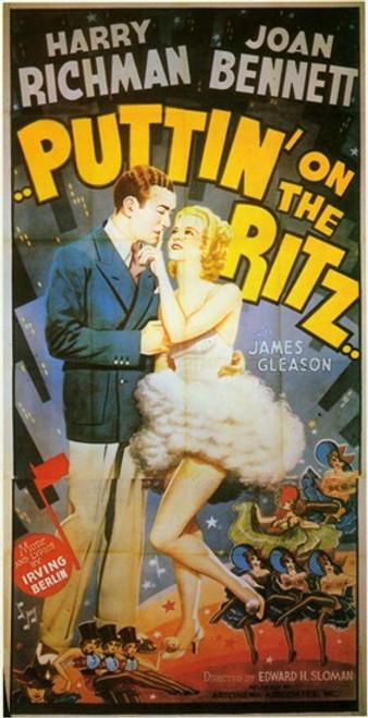 Puttin' on the Ritz Movie Poster (11 x 17) - Item # MOV241705