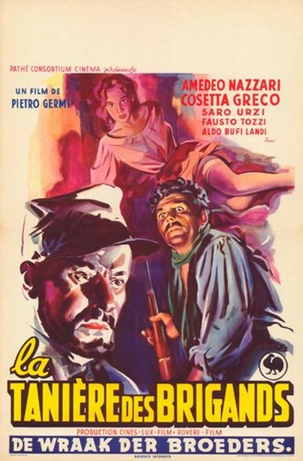 The Bandit of Tacca Del Lupo Movie Poster (11 x 17) - Item # MOV359199
