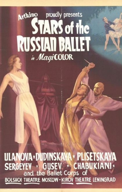Stars of the Russian Ballet Movie Poster (11 x 17) - Item # MOV209088