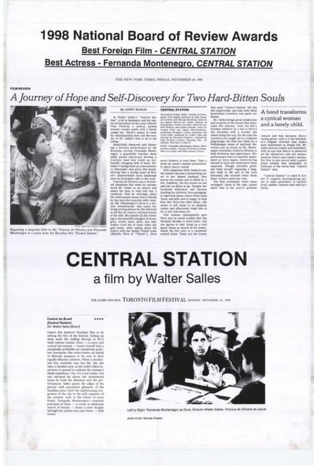 Central Station Movie Poster Print (27 x 40) - Item # MOVCH7395