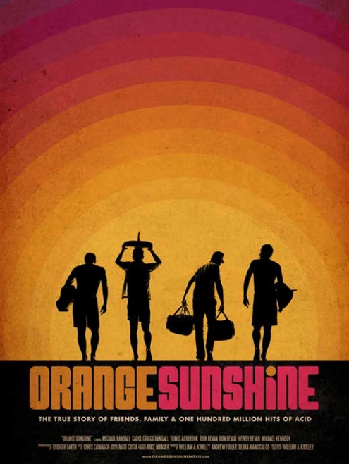Orange Sunshine Movie Poster (27 x 40) - Item # MOVCB10745