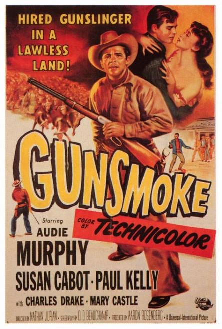 Gunsmoke Movie Poster Print (27 x 40) - Item # MOVAF0337