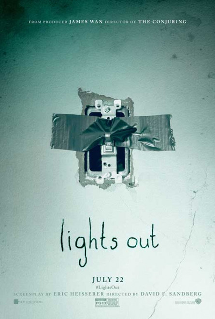 Lights Out Movie Poster (11 x 17) - Item # MOVAB17745