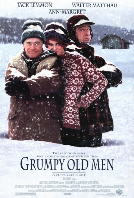 Grumpy Old Men Movie Poster Print (27 x 40) - Item # MOVCF0320