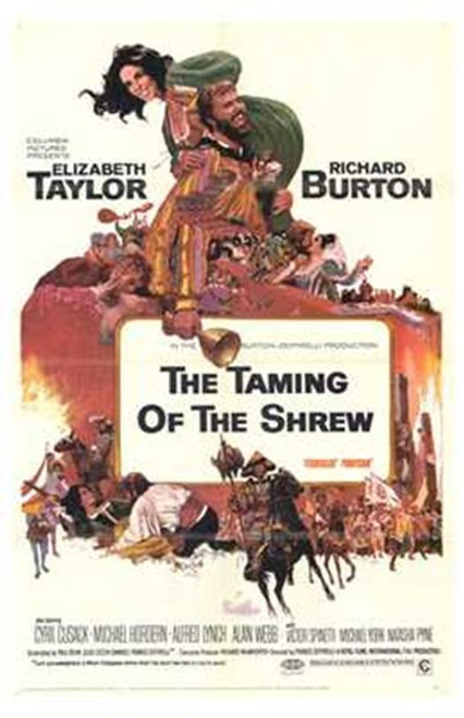 The Taming of the Shrew Movie Poster (11 x 17) - Item # MOV196848