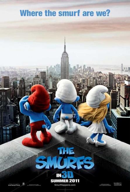 The Smurfs Movie Poster Print (27 x 40) - Item # MOVIB06053