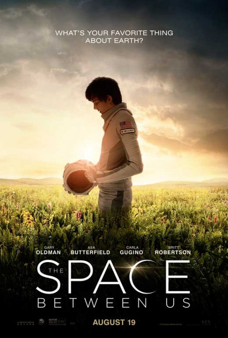 The Space Between Us Movie Poster (11 x 17) - Item # MOVGB77745