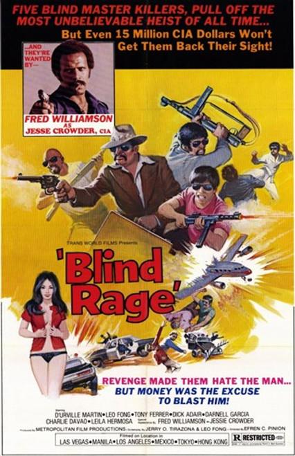Blind Rage Movie Poster (11 x 17) - Item # MOV249668