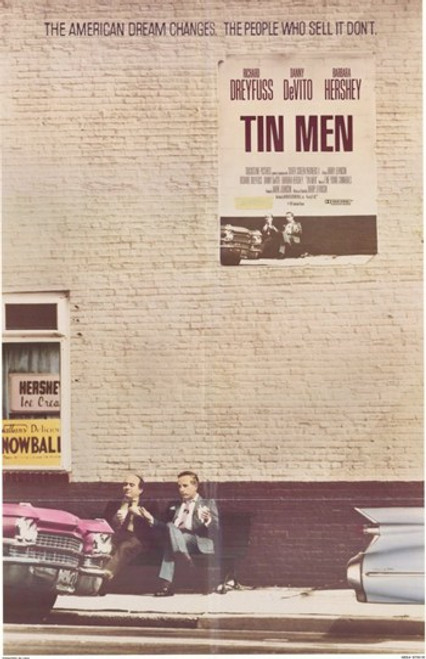 Tin Men Movie Poster (11 x 17) - Item # MOV213040
