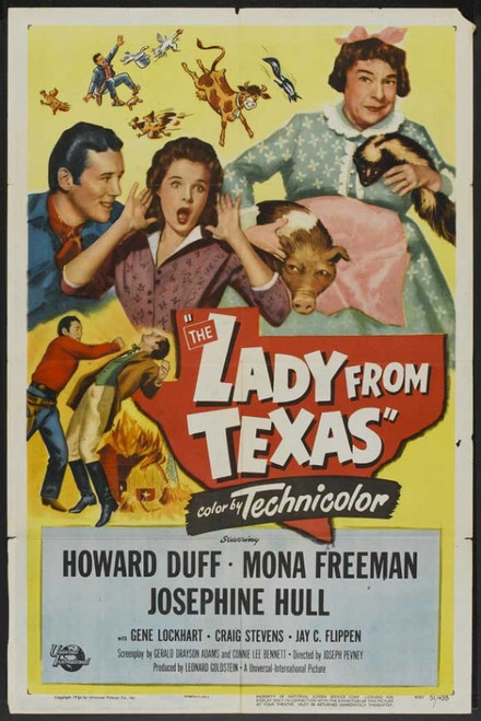 The Lady from Texas Movie Poster Print (27 x 40) - Item # MOVAJ3791