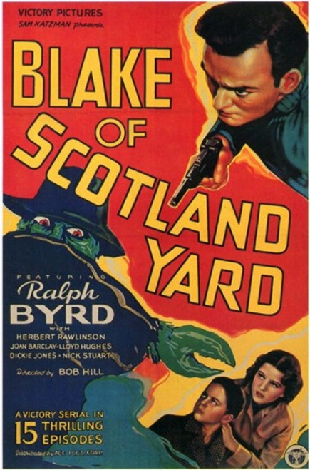 Blake of Scotland Yard Movie Poster (11 x 17) - Item # MOV202726