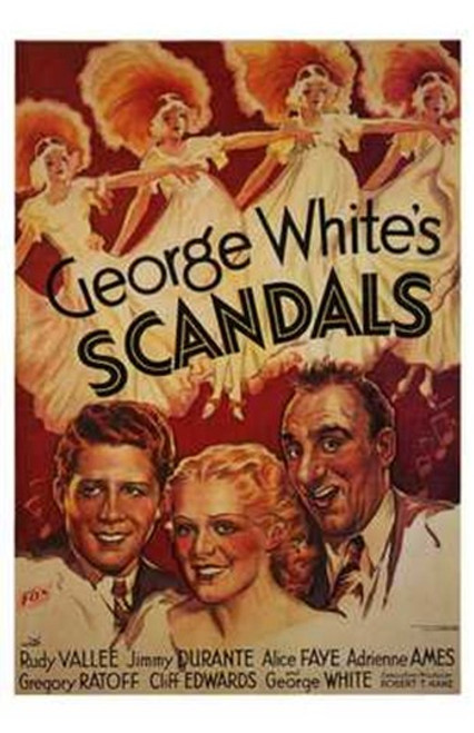 George White's Scandals Movie Poster (11 x 17) - Item # MOV197042