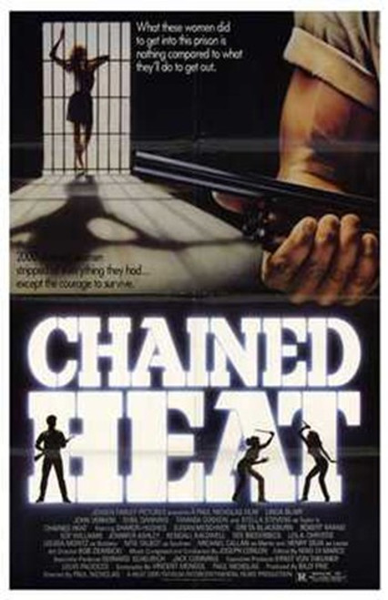Chained Heat Movie Poster (11 x 17) - Item # MOV193604