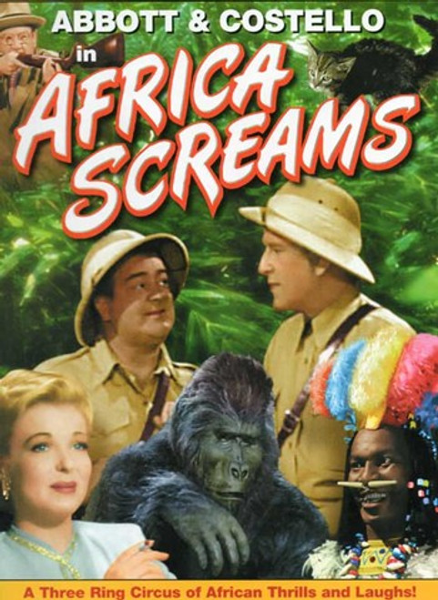 Abbott and Costello, Africa Screams, c.1949 style B Movie Poster (11 x 17) - Item # MOV458640