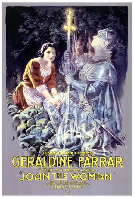 Joan the Woman Movie Poster Print (27 x 40) - Item # MOVAF3170