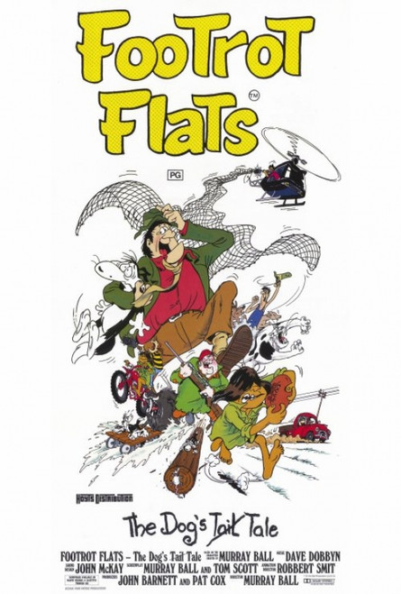 Footrot Flats: The Dog's Tale Movie Poster Print (27 x 40) - Item # MOVAH3736